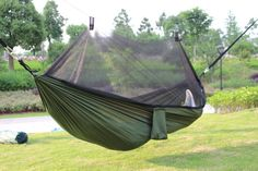 camping with kids Sunfield Nylon Hammock Mosquito Net Camping Outdoor Hammock Mat Sleeping Tent -*- AliExpress Affiliate's buyable pin. Find out more on www.aliexpress.com by clicking the VISIT button