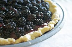 Country Cleaver Summer Berry (Icebox) Pie