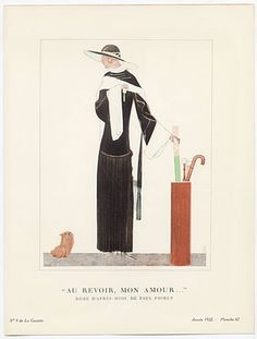 Benito 1922 Paul Poiret Afternoon Dress,