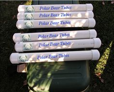 "Cooler Tips - make your own ""Polar Bear Tubes"" for keeping your cooler cool without drowning items in melting ice. >>> Whoever made these useful DIY items really must love their cooler!"