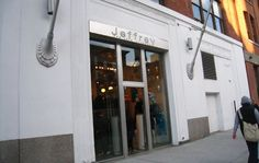 JEFFREY | Meatpacking District | 449 W. 14th St. | Shopping will be the focus of the afternoon. Visit one of my favorite department stores, Jeffrey. Here you will find some of the most exciting pieces that fashion has to offer and an excellent shoe selection.
