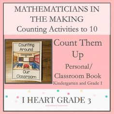 These activities are a perfect way to introduce, practice, and/or reinforce your students counting skills. Teaching Math, Math Math, Math Fractions, Creative Teaching, Math Games, Teaching Ideas, Third Grade Math, Grade 3, Special Education Classroom