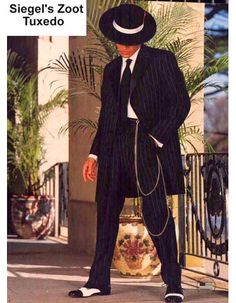 SIEGEL'S PACHUCO MODEL ZOOT SUIT RENTAL