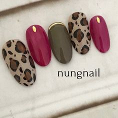 What Christmas manicure to choose for a festive mood - My Nails Bling Nails, My Nails, Trendy Nails, Cute Nails, Leopard Nails, Fabulous Nails, Flower Nails, Easy Nail Art, Nail Manicure