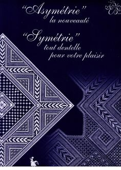 Foto: Bobbin Lace Patterns, Lacemaking, Needle Lace, Tattoos, How To Make, Albums, Magazines, Internet, Author