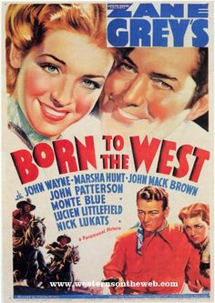 Born to the West free John Wayne Movie.  just click on the movie poster, then scroll down until you see the video. ITS FREE!