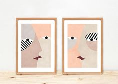 Kisses Illustrations by Depeapa  A4 prints