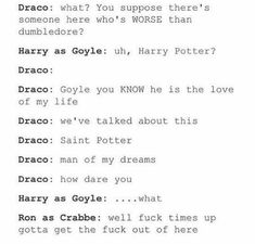 """At first I was just like,""""People ship Draco and Harry?"""" Now I am a Drarry shipper. Draco Harry Potter, Harry Potter Humor, Harry Potter Ships, Harry Potter Universal, Harry Potter World, Draco Malfoy, Fandoms, Must Be A Weasley, Yer A Wizard Harry"""