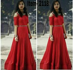 For more detail Whats-app / Call me 6353751540 Re-seller Are Most Welcome. For Daily New Update (Ping My Whatsapp) Western Dresses, Indian Dresses, Indian Outfits, Indian Clothes, Designer Gowns, Indian Designer Wear, Anarkali Dress, Anarkali Suits, Churidar Suits