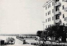 Куйбышев. Студенческий переулок. Дом Энерго. Фотография. Август, 1958.