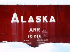 Items similar to Alaska - fine art photo- as featured on the front page of Etsy on Etsy The Places Youll Go, Places To See, Places Ive Been, Alaska Train, Alaska Railroad, Alaska Usa, Living In Alaska, Winter Love, Fine Art Photo