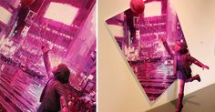 3D Sculptural Paintings by Shintaro Ohata  http://www.thisiscolossal.com/2014/08/3d-sculptural-paintings-by-shintaro-ohata/