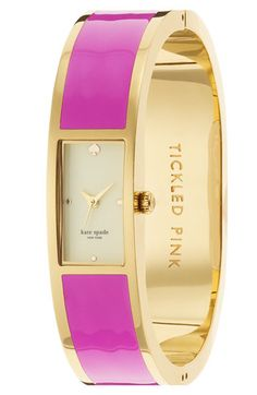 Kate Spade Carousel bangle watch $250