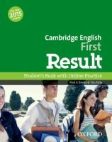 Cambridge English first result : student's book with online practice/ Paul A. Davies & Tim Falla