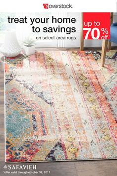 Or, use it to decorate your favorite room. A fine example of Safavieh's Monaco collection, this vintage-style distressed rug features the vivid colors of Bohemian decor paired with classic neutrals to create an eye-catching display.