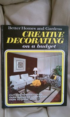 1973 Better Homes And Gardens Creative By Luckyrosiescreations On Etsy 10 65 Craft Books Book