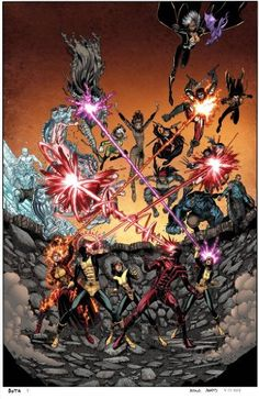 #Wolverine and the #XMen No.36 Even more X-Men enter the Battle Of The Atom. I've lost count. http://www.amazon.com/dp/B00FAS4VGQ/ref=cm_sw_r_pi_dp_tloGsb02555Y586S