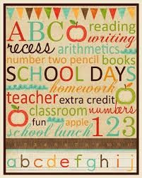 Cute gift idea for teach, FREE printable and frame! Great first day of school gift!