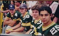 Fez ,Eric ,Hyde and Kelso @GreenBay Packers game                                                                                                                                                                                 More