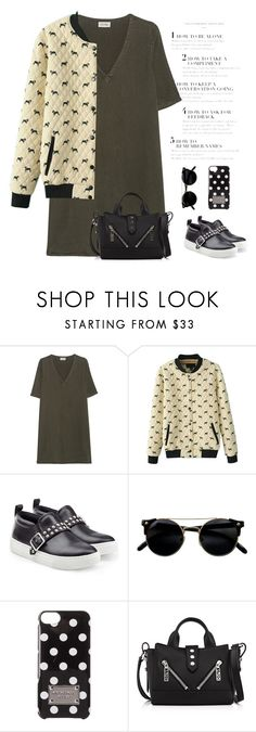 """""""Casual"""" by nightowl59 ❤ liked on Polyvore featuring American Vintage, WithChic, Marc by Marc Jacobs, MICHAEL Michael Kors and Kenzo"""