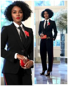 Janelle Monae.lady in suit