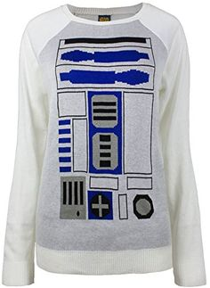 Star Wars Artoo Simple Sweater (Small, White) -- More details can be found by clicking on the image. White Sweaters, Sweaters For Women, Movie Stars, R2 D2, Pullover Sweaters, Star Wars, Graphic Sweatshirt, Sweatshirts, Star Crossed