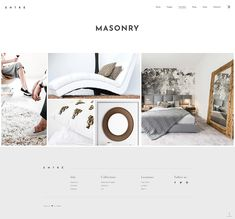 Made for architecture and interior design, Entré WordPress theme is made with the clear intention of showcasing beauty in an elegant way. #wordpress #webdesign #theme #layout #architecture #architect #interiordesign #decor #homedecoration #portfolio #furniture