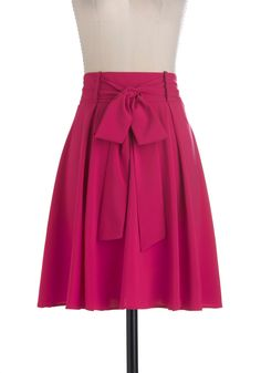 In It to Spin It Skirt...pair it with a striped tank and flat sandals for casual-cute, or a sheer blouse and canvas wedges for fancier flirtatiousness