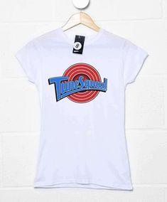 Tune Squad Team Womens T Shirt - White / 6-8