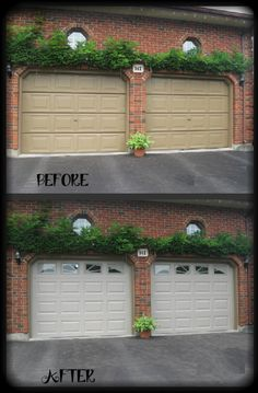 78 Best Before Amp After Images In 2019 Garage Door Design