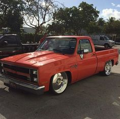 Clean chevy truck