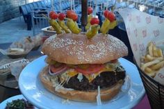 Would you eat an 8-pound burger? You can buy the StrasBurger, named after pitcher Stephen Strasburg, if you go to a Washington Nationals game.