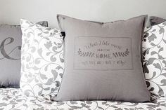 The perfect valentines gift with you personal love declaration hand printed with a unique design on a quality cushion cover Love Days, Valentine Gifts, Bed Pillows, Handmade Gifts, Prints, Etsy, Design, Pillows, Kid Craft Gifts