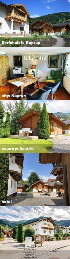 Dorfchalets Kaprun, city: Kaprun, country: Austria, hotel Austria, Hotels, Tours, Mansions, Country, House Styles, City, Home Decor, Kaprun