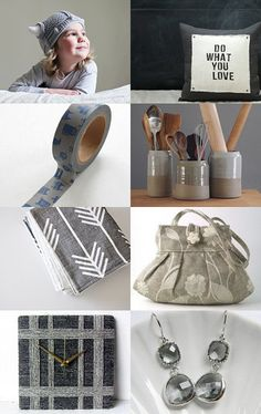 Ode to grey by Lotus on Etsy--Pinned with TreasuryPin.com