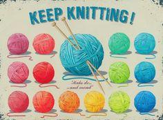 Keep Knitting by eclectic gipsyland ... มีวิธีถักดอกไม้โครเชต์ที่ลิ้งค์นี้ http://gipsybazar.blogspot.com/2011/08/puffy-daisy-and-free-tutorial.html
