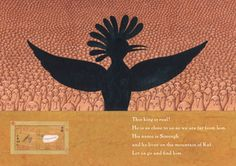 Peter Sis illustration, from The Conference of the Birds, based on an ancient Persian Sufi epic poem