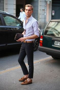 I quite like how its shows the ankle but still manages to keep it classy. Cool & Chic Style to dress italian II°