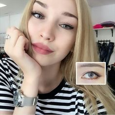 Nature contact lenses must suitable for your pretty face.Polar lights Gray lens, buy it now>>http://www.ttdeye.com/