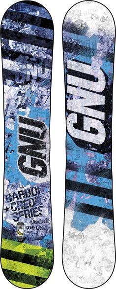 82ebed517d5 Gnu Carbon Credit BTX Snowboard Bustin Boards