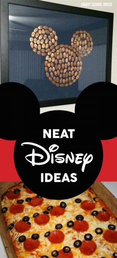 Neat Disney Ideas - crafts, art, gift, and party ideas.