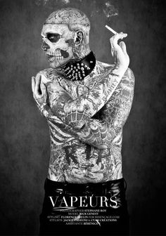 @Chill Murray | Zombie Boy (Rick Genest) for Factice Magazine 2012