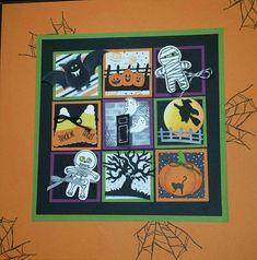 Gina Shappa - Yahoo Image Search Results Halloween Shadow Box, Halloween Frames, Halloween Pictures, Halloween Cards, Halloween Decorations, Box Frame Art, 3d Paper Crafts, Candy Cards, Frame Crafts