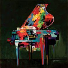 Piano Coloratura by P Robert