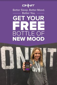 Get your FREE bottle of New MOOD today. Designed to help the body with healthy mood balance and mental stress reduction, New MOOD is made with 5-HTP, L-Tryptophan and Vitamin B6. For a limited time, we're offering you a free bottle. Just pay shipping. We're sure you're going to love it.