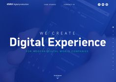 ELEKS Digital Production #webdesign #inspiration #UI