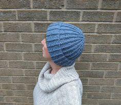 Hey, I found this really awesome Etsy listing at https://www.etsy.com/uk/listing/449618242/hand-knitted-ladies-beanie-hat-blue