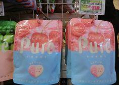 พุเระกัมมี่ เยลลี่รสพีชและโซดา Go To Japan, Suitcase, Suitcases