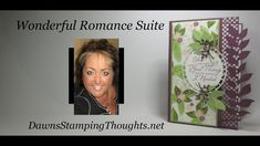 Wonderful Romance Suite Fun Fold Cards, Folded Cards, Dawn Griffith, Dawns Stamping Thoughts, Post It Note Holders, Love Stamps, Stamping Up Cards, Card Tutorials, Sympathy Cards