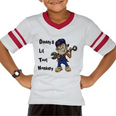 Kian is Daddy's Lil' Tool Monkey Tshirt online after you search a lot for where to buyDiscount Deals          	Kian is Daddy's Lil' Tool Monkey Tshirt Online Secure Check out Quick and Easy...